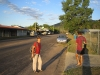 Gaye and Mark strolling around the town on our rest day. Coen