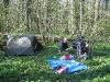 Bush camp near Fresnicourt-le-Dolmen