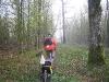 Leaving bush camp near Montagne-de-Reims