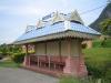 Ornate bus stop
