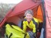 Ready to ride. Bush camp near Douro River, Portugal.