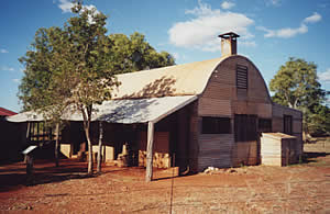 Old house at Millstream NP. WA