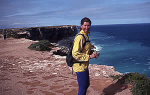 Gaye at the Great Australian Bight
