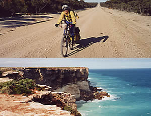 Back Road to Balladonia. Great Australian Bight