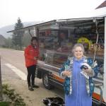 Morning Baguettes...yum, near Langres