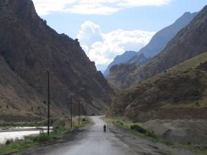 Winding along the river valleys near Yusefeli