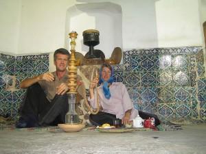 Tea house, Kashan