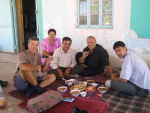 Vodka for lunch, Turkmenebat