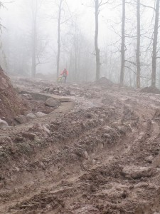 Road from hell. 30k frozen mud bash