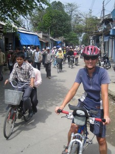 A casual day riding around Hue.