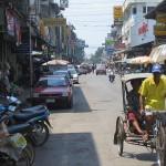 A hot day in Kabinburi
