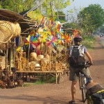 Roadside stall near Kabinburi