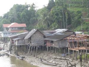 Fishing village near Kra Buri