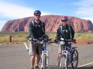 Ed and Gaye at Uluru