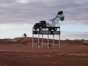 Coober Pedy. SA. Australia
