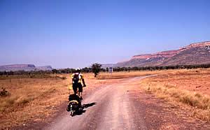 Heading into the Cockburn Ranges