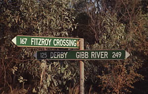 GRR junction to Fitzroy Crossing