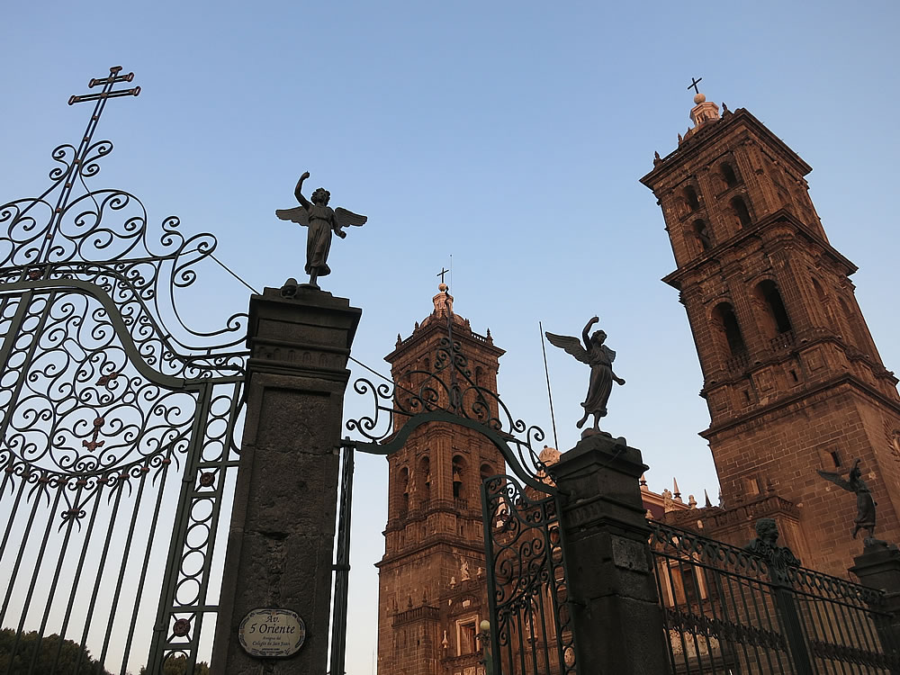 Cathedral in Puebla