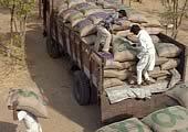 Oxfam food supplies