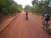 The road looks good heading into Cape Melville NP