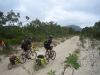 Ed and Mark, second day into Cape Melville NP. The track is getting sandy.