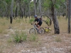 Sandy track in northern area of Cape Melville NP. It was often easier to ride off the track meandering through the trees