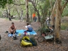 Ed and Gaye. Camping at Saltwater Creek