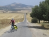 Climbing the back road to Moulay Idriss