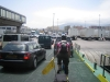 Leaving the ferry, back in Spain. Algeciras