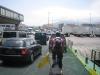 Leaving the ferry, back in Spain. Algeciras