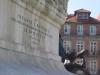 City square monument. Porto, Portugal
