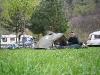 Pleasant camping at Martigny