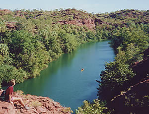 Lawn Hill Gorge, Qld 11/7/00