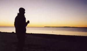 Sunset at Whalebone Bay (near Monkey Mia)