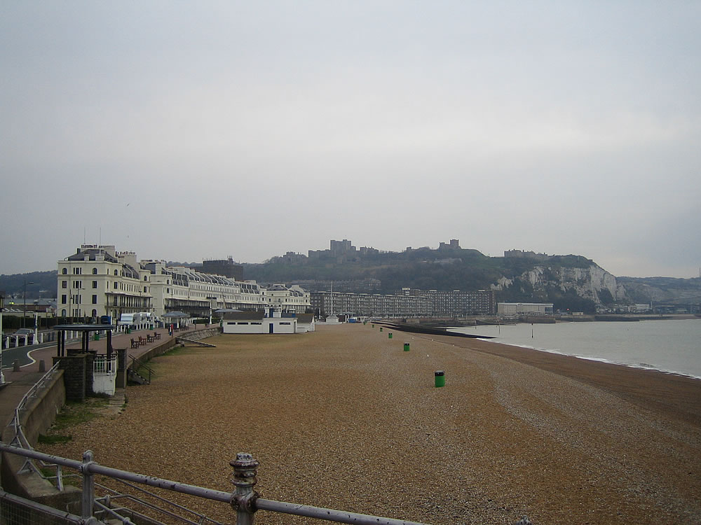 The beaches of Dover