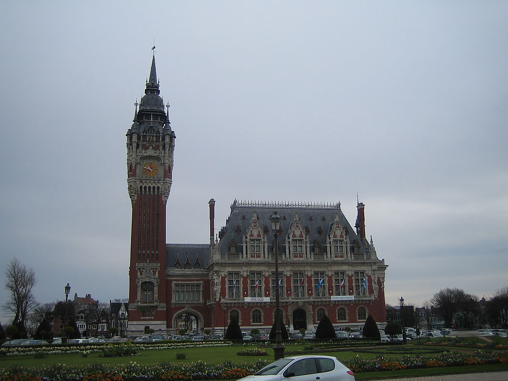 A classic French building near Calais