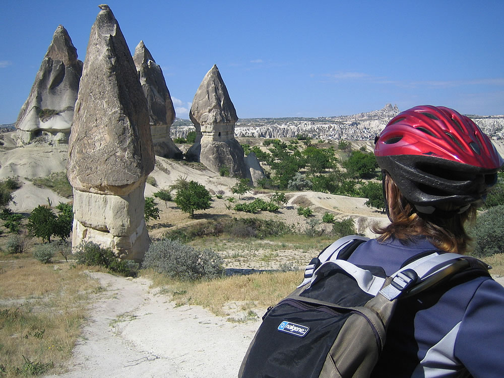 Rock formations at Goreme