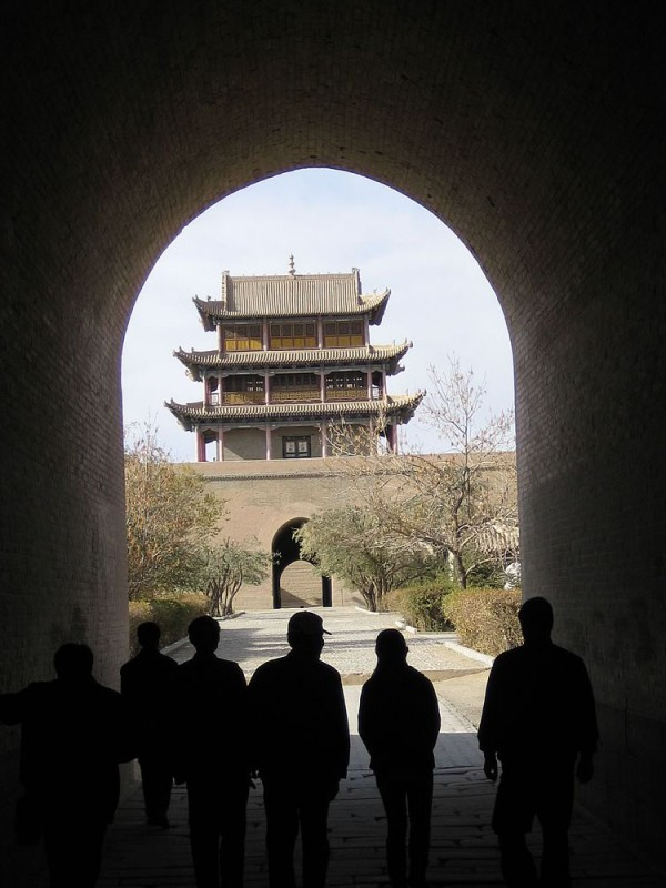 Jiayu Pass Fort. Jiayuguan (near Yumen). This fort was located at the western end of the Great Wall of China.