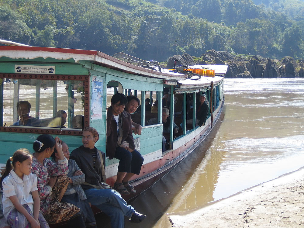Journey down the Mekong River