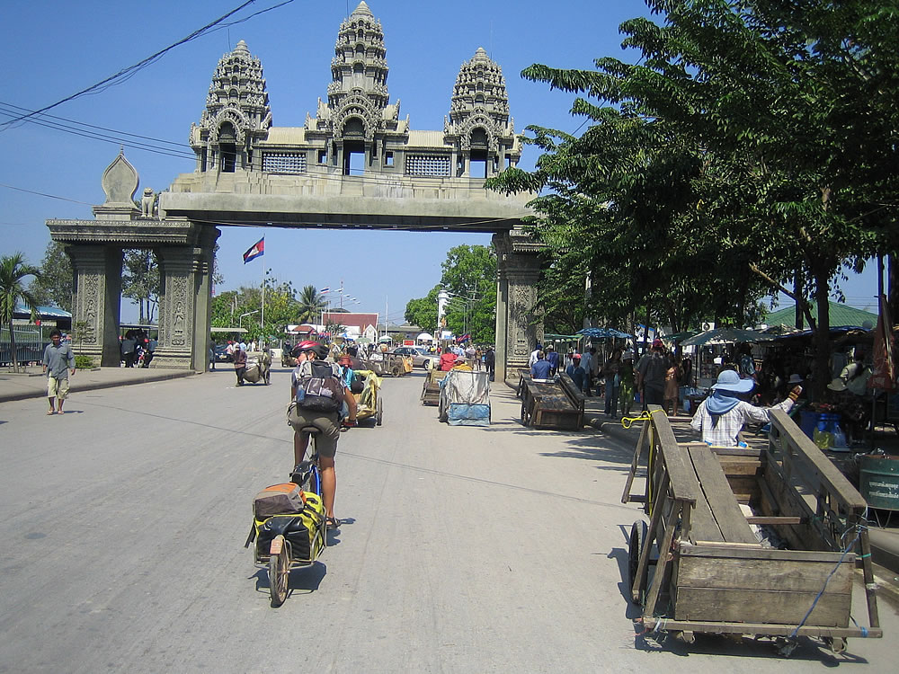 Crossing into Thailand from Cambodia