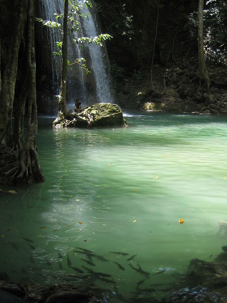 Erawan National Park near Kanchanaburi