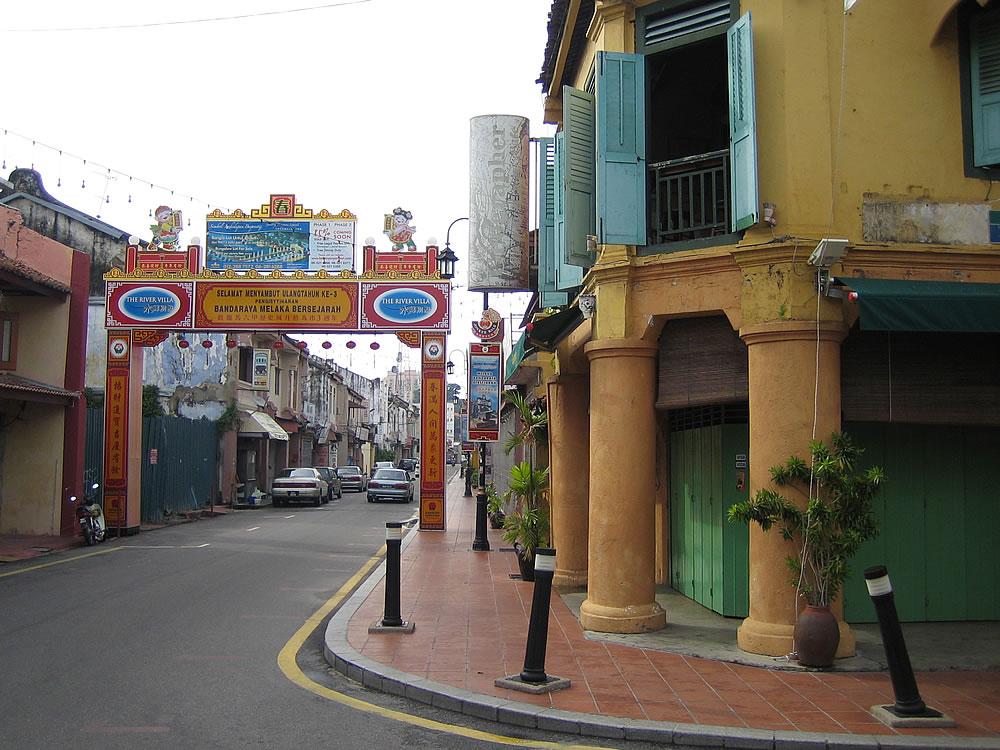 Chinese section, Melaka