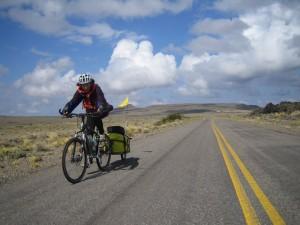 Gaye approaching Laguna Blanca