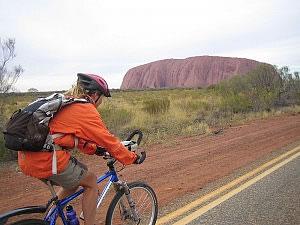 Gaye enroute to Uluru
