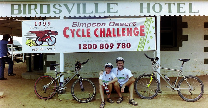 The Simpson Desert Bike Challenge 1999