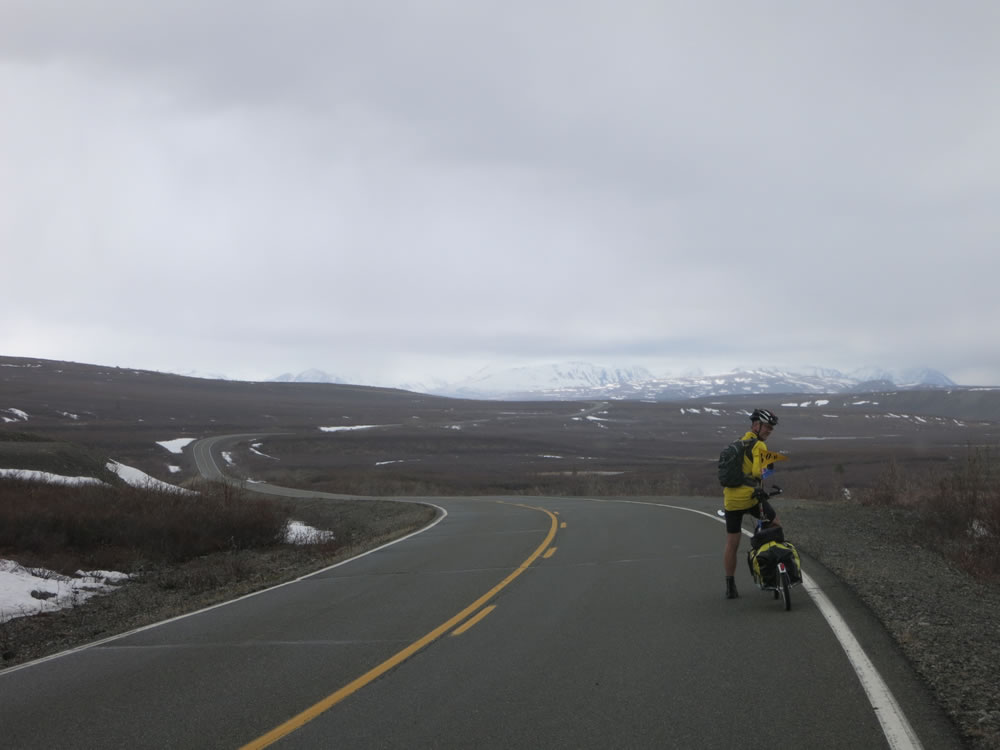 Cold & wet conditions followed us onto the dirt along the Denali Highway.