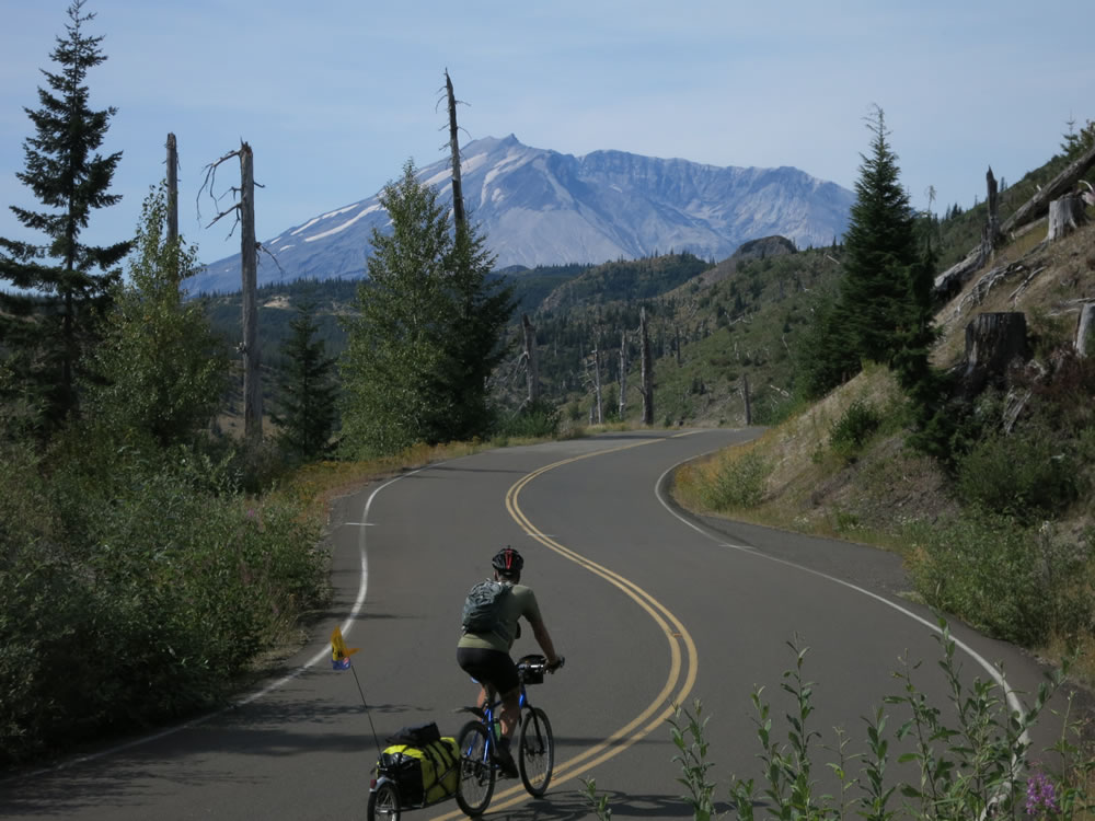 … the fantastic ride out to Windy Point at Mt. St. Helens …