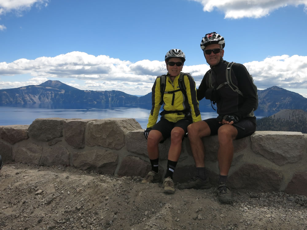 … and the ride around the rim of Crater Lake …