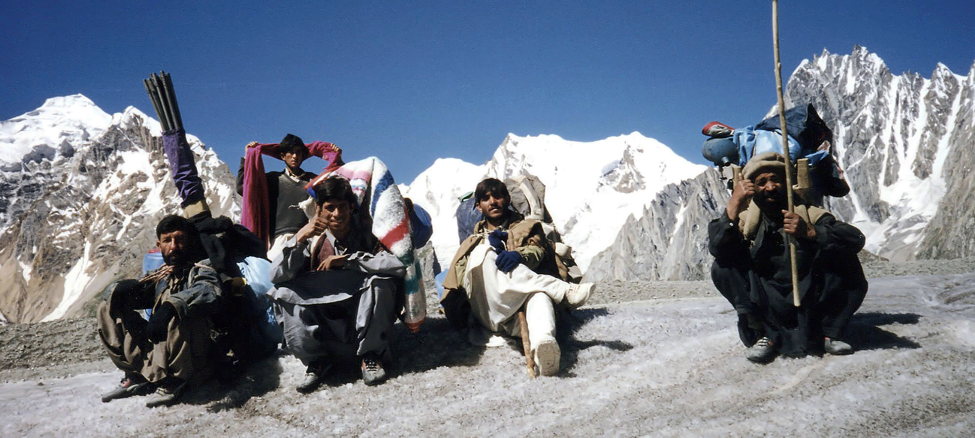 Trekking in the Karakoram Ranges